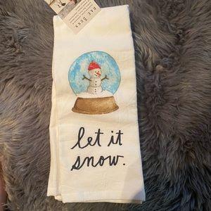 Rae Dunn set of 2 Christmas towels